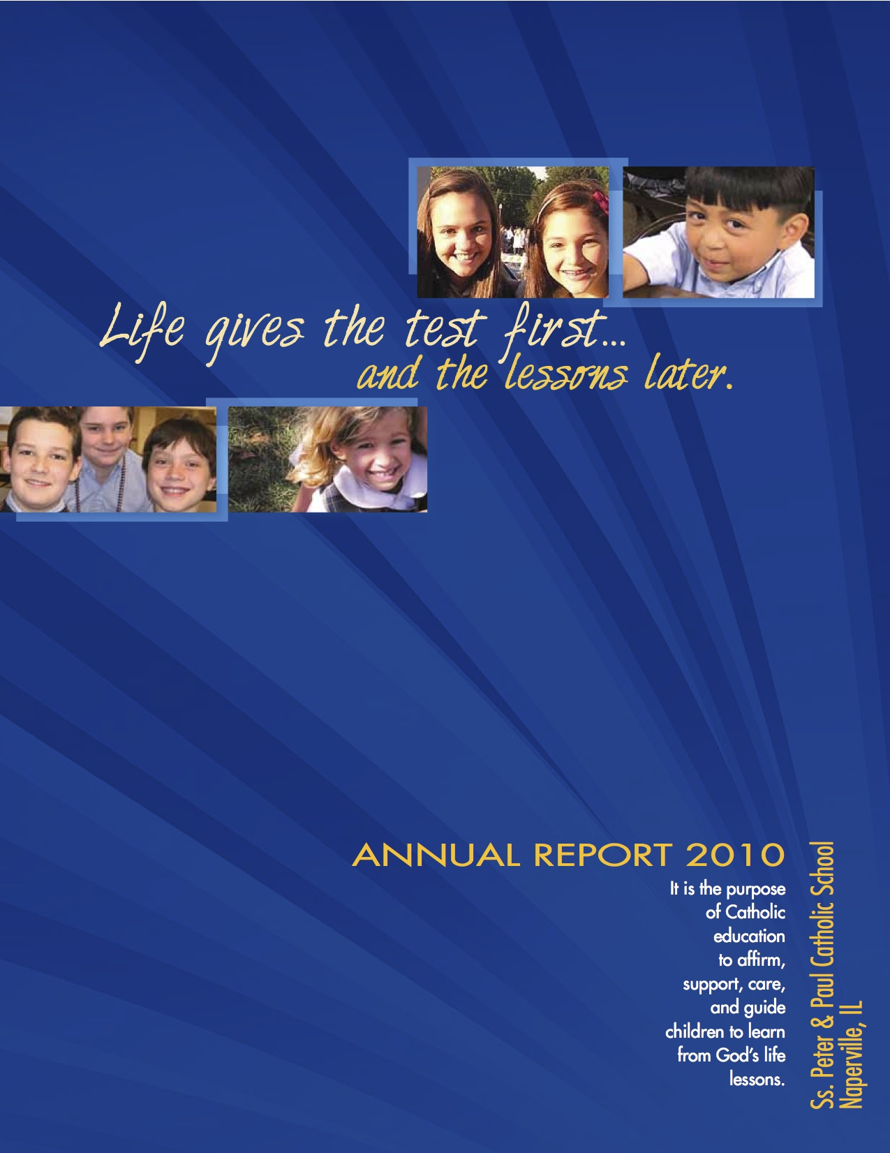 AF Annual Report SS Peter and Paul SAMPLE1
