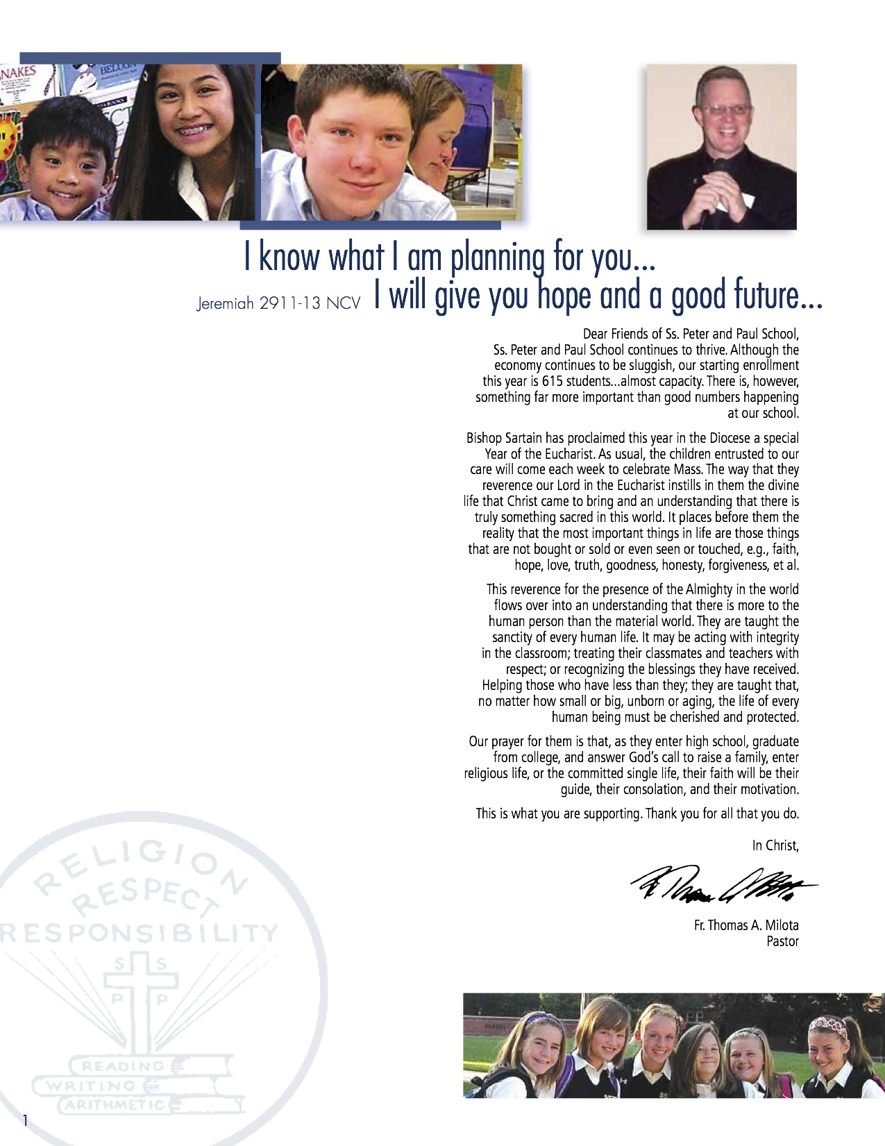 AF Annual Report SS Peter and Paul SAMPLE2