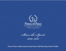 Prince of Peace Annual Fund Brochure