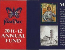 St. Joan of Arc Annual Fund Brochure 11-12