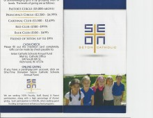 Seton Catholic Schools Annual Fund Brochure
