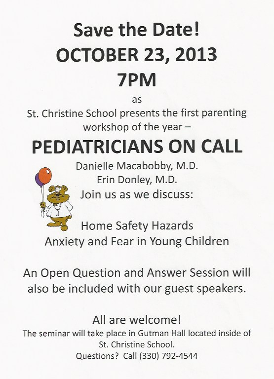 StChristinePediatricianOnCall