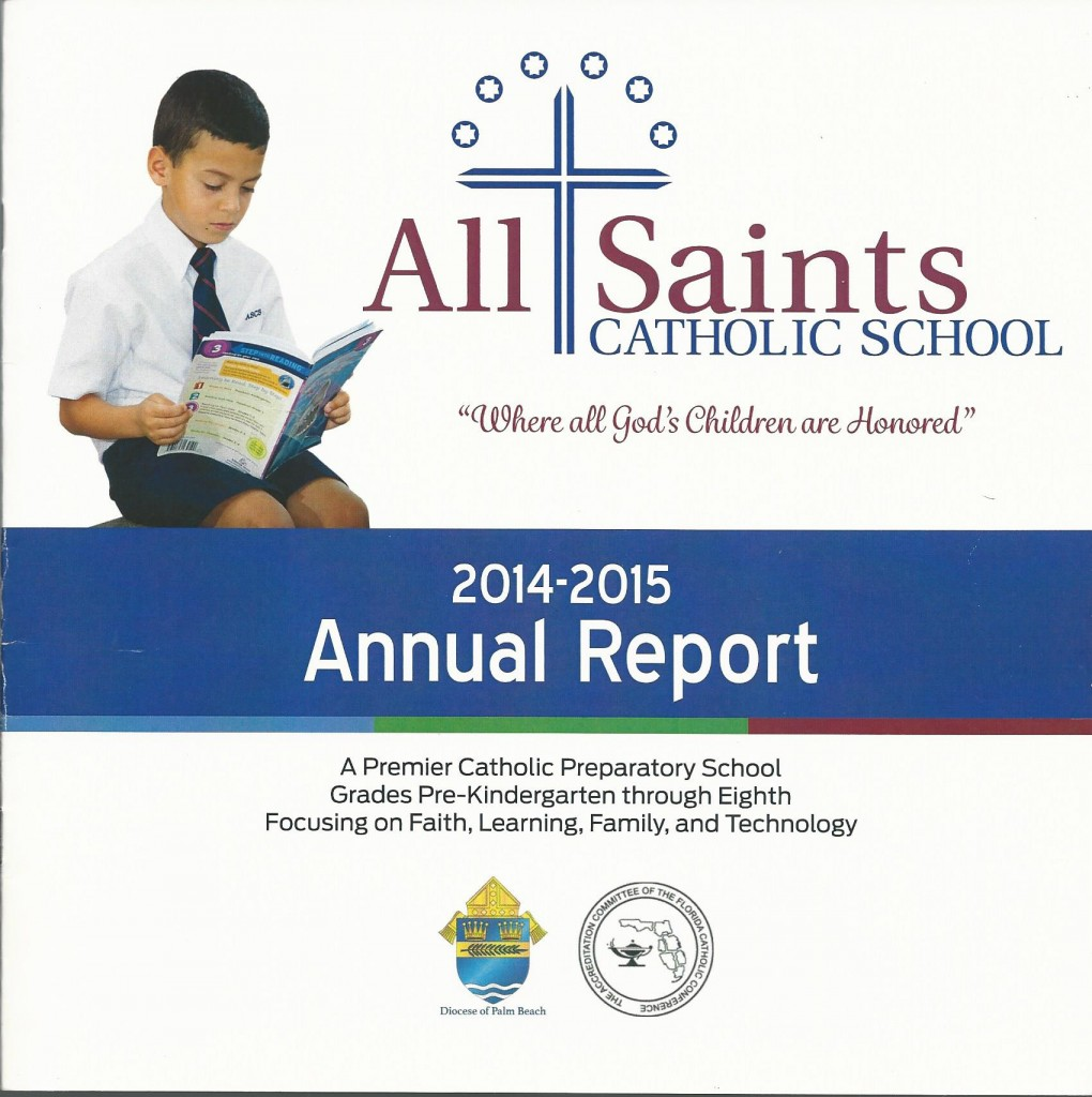 All Saints Annual Report 1