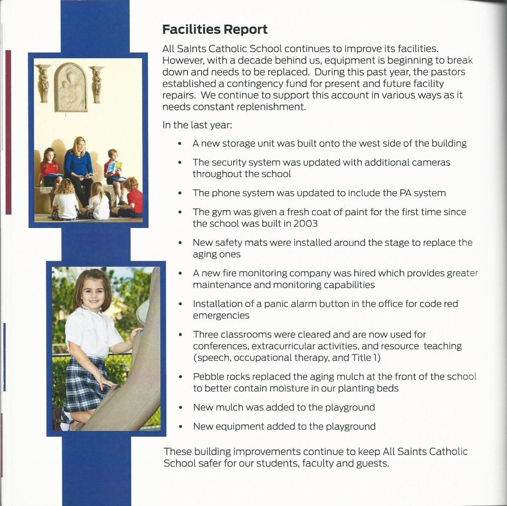 All Saints Annual Report 11