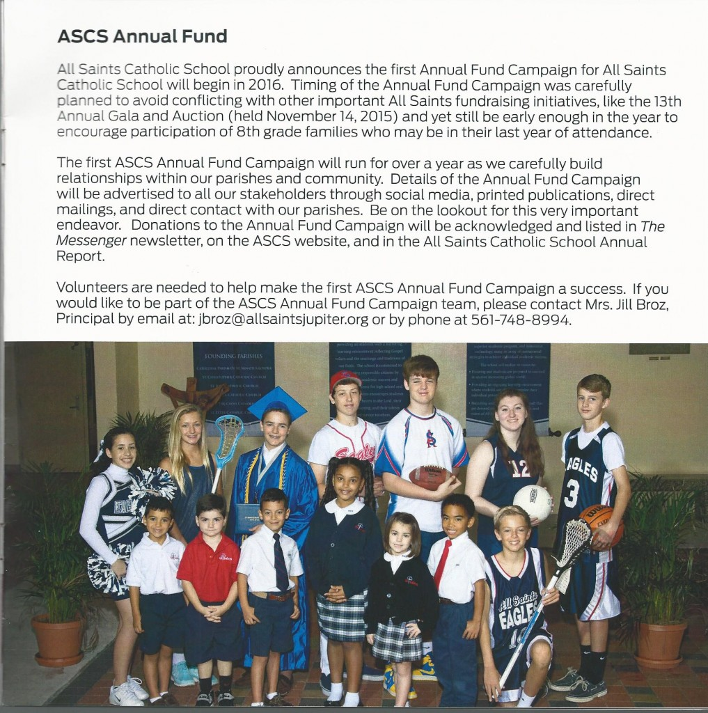 All Saints Annual Report 12