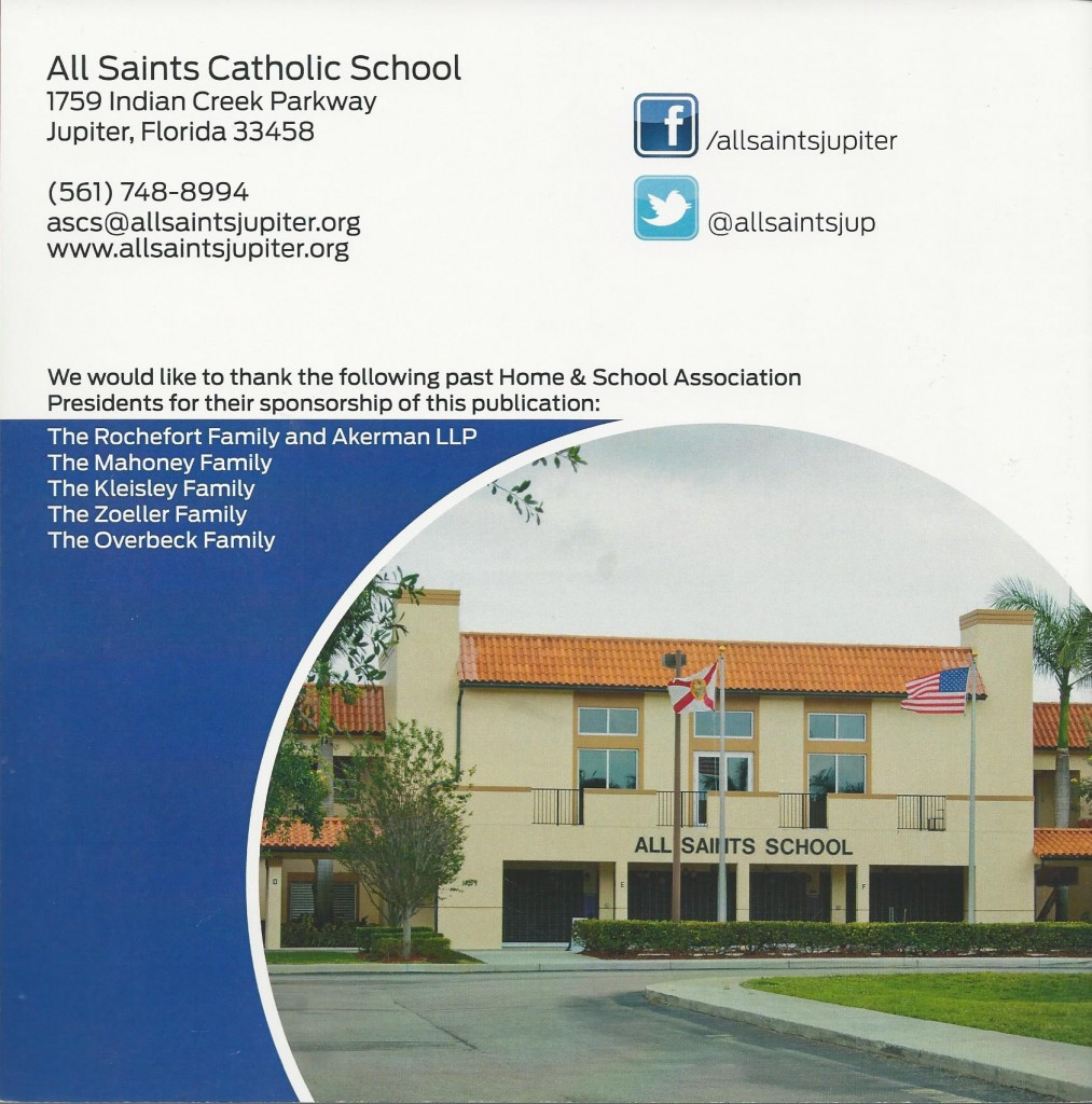 All Saints Annual Report 14