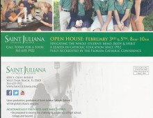 Open House Postcard – Saint Juliana