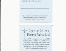 Parent Pal Sign Up